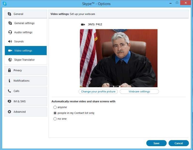 court videoconferencing