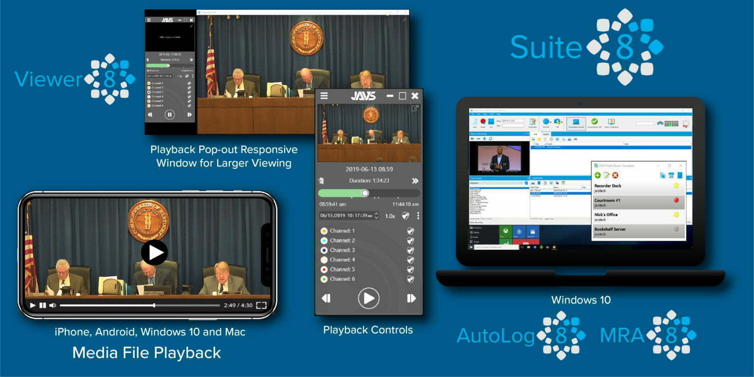 JAVS Suite 8 Device Platforms